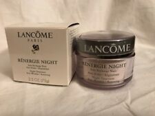 Lancome Renergie Night Treatment Anti Wrinkle Restoring Cream 2.5oz/75g NIB