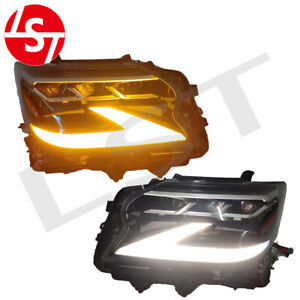 A pairs LH+RH headlight For 2014-2019 Lexus GX460 GX400 upgrade 2020 headlamp
