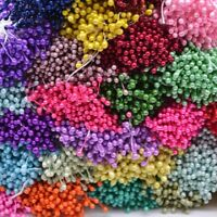 300Pcs DIY Flower Stamens Clusters Cake Decorating Sugar Craft Christmas Cards