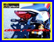Portatarga LighTech HUSQVARNA NUDA 900 12>13 supporto + luce targa led 2012 2013