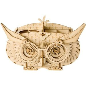 ROLIFE OWL BOX DIY 3D Wooden Puzzle Toy Assembly Model Children's Toy Best Gift