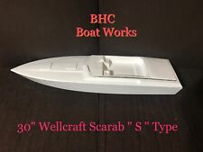 "Dumas boat 30"" Wellcraft Scarab ""S"" Type ( replica )"