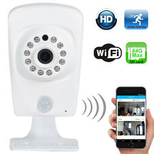 Wireless HD 720P Wi-Fi IP Security Camera Audio Night Vision SD Card Record bww