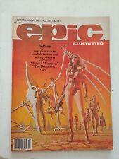 Epic Illustrated #3/Bronze Age Marvel Comic Book/1st Dreadstar/VF