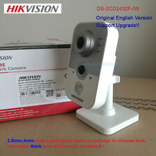 Hikvision Ds-2Cd2432F-Iw English Version 3Mp WiFi Mic Poe 1080P Cube Ip Camera