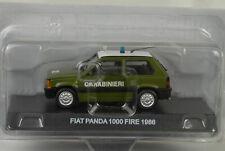 Fiat Panda 1000 Fire 1986 Carabinieri 1:43 IXO De Agostini Magazine
