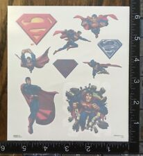 SUPERMAN BY DC COMICS, ONE SHEET TEMPORARY TATTOOS BEAUTIFUL DESIGNS #ACERO1