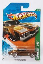 2011 Hot Wheels Uncirculated Super Treasure Hunt '68 Olds 442 Spectraflame🔥