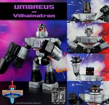 Weaponeers of Monkaa Vilhainatron glyos WOM Homage to Transformers g-1 Megatron