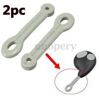 2x Remote Key Fob Ring Rubber Strap hoop For Cobra 7777B & 7777 Alarm |