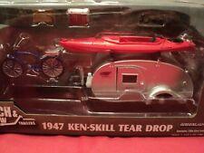 Greenlight  1947 Ken-skill tear drop Camper  1/24 scale nib