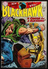 BLACKHAWK #235 1967 SOLID FN GLOSSY THE TITANIC TWINS SUPER POWERED BLACKHAWKS!