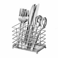 Oneida Impact 12-Piece Casual Flatware Set with Countertop Caddy, Service for 4