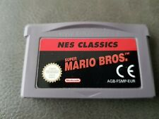 NES Classics Super Mario Bros Nintendo GameBoy Advance GBA Loose Cartridge Only