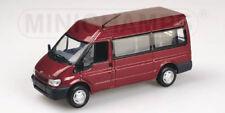 Minichamps 430089400 FORD TRANSIT BUS - 2000 - RED METALLIC  Massstab: 1:43