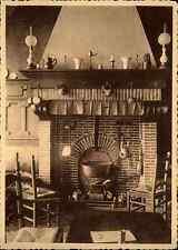 Belgien ~1940 TOURNAI Aux Trois Pommes D`Orange Gasthaus Gasthof Innenansicht