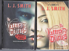 THE VAMPIRE DIARIES L. J. Smith (Set) 2PBs ~Four Stories/CW TV series~
