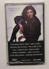 NATALIE COLE HAPPY LOVE/HAPPY EYES CASSETTE Capitol Rec 4XT-12165 US 1981 M