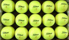New listing 12 TITLEIST TruFeel YELLOW used GOLF BALLS, AAAA,  FREE SHIPPING