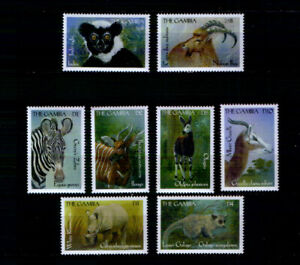 Gambia 3507-14 ** Tiere (2000)