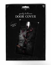 Halloween Door Cover Haunted Spooky Decoration Scary Scene Setter Hanging Wall 2 Pack Mixed 48250