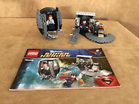 76009 LEGO Complete Superman Black Zero Escape Super Heroes DC minifigures zod
