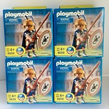 Playmobil 4659 Roman Centurion Scorpion Shield Army Builder Lot of 4 PM-2