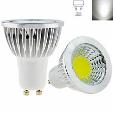 Ultra Bright LED Spotlight Bulb GU10 6W Lamp Cool White 6000-6500K AC 85-265V