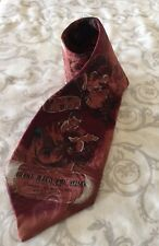 Vtg American Film Classics Silk Tie Gone With The Wind 1992 Clark Gable