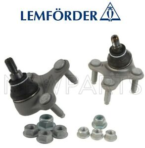 For Audi A3 Quattro VW Beetle Golf Pair Set of Front Suspension Ball Joints OEM
