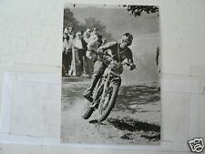 C STEN LUNDIN LITO WK 500 CC 1959-91 CROSS MXVINTAGE POSTCARD MOTO 13-03