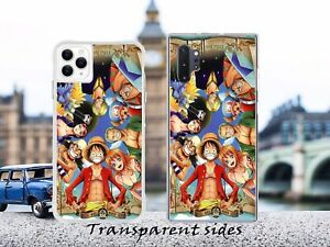 Japan Anime One Piece Character Collage Phone Case