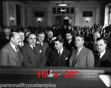 "Al Capone~Gangster~Courtroom~Attorney~Photo~Lawyer~ Poster 16"" x  20"""