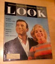 LOOK magazine July 5, 1960: Marilyn Monroe & Yves Montand cover, nice ads