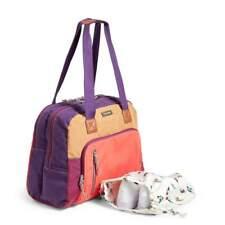 Vera Bradley Hot Lava LOT Go Anywhere Lighten Up Travel carry on Bag&RFID Wallet