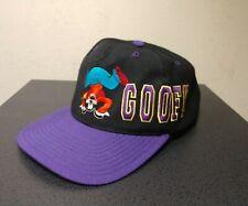 Vintage Disney Goofy Snapback hat Blockhead style Mickey Unlimited 90s Hat