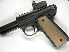 Unfinished Walnut Ruger Mark III 22/45 Grips MK 3