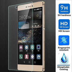 TEMPERED GLASS SCREEN PROTECTOR ANTI SCRATCH FILM For HUAWEI P8 LITE UK POST