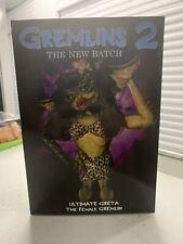 ULTIMATE GRETA NECA Gremlins 2 female gremlin Action Figure 2021 New