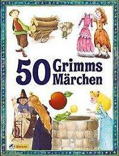 50 Grimms Märchen von Brüder Grimm (2021, Taschenbuch)