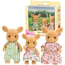Sylvanian Families Dollhouse Deer Family 3pcs Set Toy Doll Figures 5133
