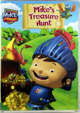 Mike The Knight: Mike's Treasure Hunt Brand NEW DVD Sparkie, Squirt And Galahad