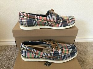 NIB Men Sperry Top-Sider Authentic Original 2-Eye Kick Back Boat Shoes STS22433
