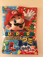 1 x Super Mario Cola & Ramune Candy Gummies - Japanese Nobel Gummy Candies Gummi