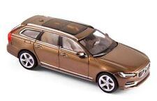 wonderful PR-modelcar VOLVO V90 WAGON 2017 -  twilight bronze metallic - 1/43