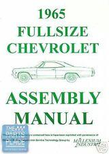 1965-65 Chevrolet Impala Assembly Manual - Each