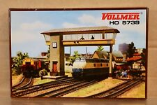 Vollmer HO Scale Signal Tower Plastic Model Kit # 5739