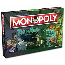 Rick and Morty Monopoly Board Game Adult Swim Version