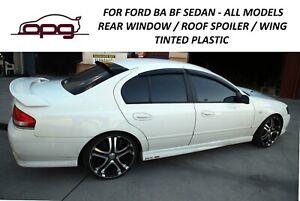 Rear Roof Visor Spoiler Sunshade for Ford FPV BA BF Falcon XR6 XR8 GT F6 Sedan