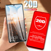20D Full Curved Edge Tempered Glass Screen Protector Film For iPhone Xs Max 8 7+